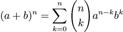 newton binomial theorem Here, () is the binomial coefficient for n and i, which was defined in the previous there are many consequences of the binomial theorem.