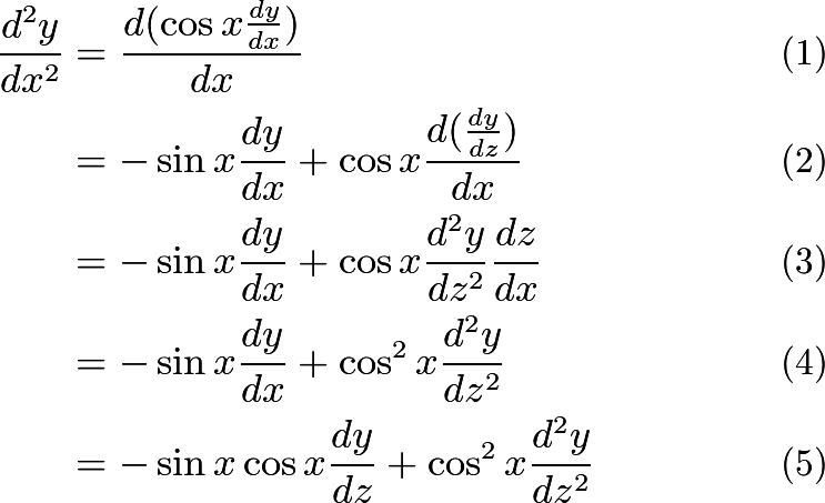 hinn's blog : Solve a second-order differential equation